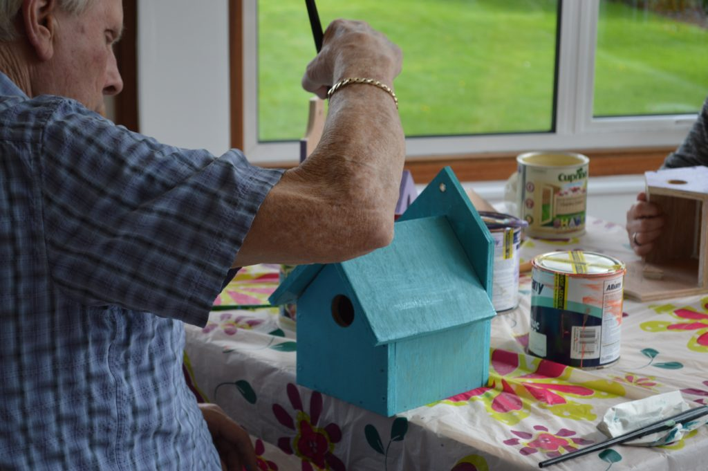 Bird Boxes at Pilgrims Therapy Centre Time to Create
