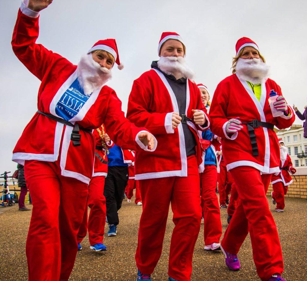 Santas on the Run! - Pilgrims Hospices