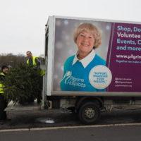 tree recycling van