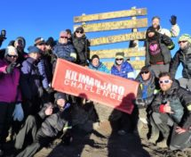 Kilimanjaro New Year summit trek main