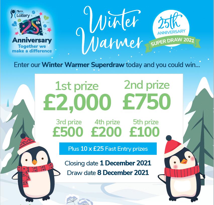 Winter Warmer 25th Anniversary Superdraw
